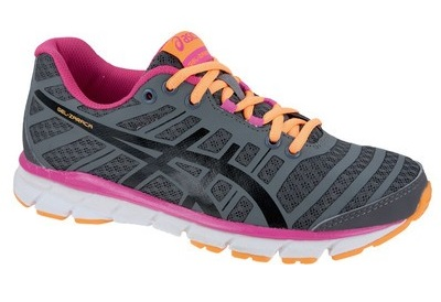 asics gel zaraca 2 trainers ladies